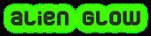 Font Jumbo Alien Glow Logo Preview
