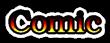 Font Kacst Naskh Comic Logo Preview