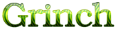 Font Kacst Naskh Grinch Logo Preview