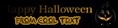 Font Kacst Naskh Halloween Symbol Logo Preview
