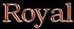 Font Kacst Naskh Royal Logo Preview
