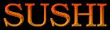 Font Kacst Naskh Sushi Logo Preview