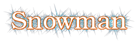 Font Kacst Pen Snowman Logo Preview