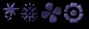 Font Kalocsai Flowers Felt Logo Preview