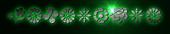 Font Kalocsai Flowers Galactica Logo Preview