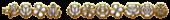 Font Kalocsai Flowers Gold Outline Logo Preview