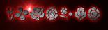 Font Kalocsai Flowers Klingon Logo Preview