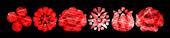 Font Kalocsai Flowers Lasers Logo Preview