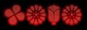 Font Kalocsai Flowers Lava Logo Preview
