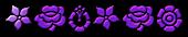 Font Kalocsai Flowers Pimpin Logo Preview