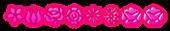 Font Kalocsai Flowers Princess Logo Preview