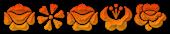 Font Kalocsai Flowers Sushi Logo Preview
