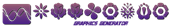 Font Kalocsai Flowers Symbol Logo Preview