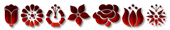 Font Kalocsai Flowers Vampire Logo Preview