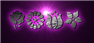 Font Kalocsai Flowers Warp Logo Preview