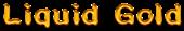 Liquid Gold Logo Style