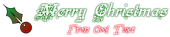 Font Kelly Ann Gothic Christmas Symbol Logo Preview