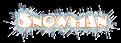 Font Kerfuffle Snowman Logo Preview