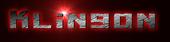 Font Kiloton Klingon Logo Preview