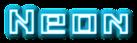 Font Kiloton Neon Logo Preview