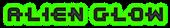 Font Kinex Alien Glow Logo Preview