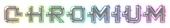 Font Kinex Chromium Logo Preview