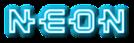 Font Kinex Neon Logo Preview