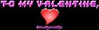 Font Kinex Valentine Symbol Logo Preview