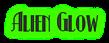 Font Kismet Alien Glow Logo Preview