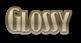Font Kismet Glossy Logo Preview