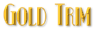 Font Kismet Gold Trim Logo Preview