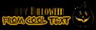 Font Kismet Halloween Symbol Logo Preview