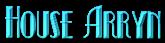 Font Kismet House Arryn Logo Preview
