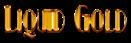 Font Kismet Liquid Gold Logo Preview