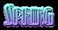 Font Kismet Spring Logo Preview