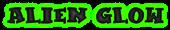 Font Kleptomaniac Alien Glow Logo Preview