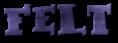 Font Kleptomaniac Felt Logo Preview