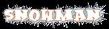 Font Kleptomaniac Snowman Logo Preview