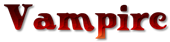Font Knuffig Vampire Logo Preview