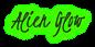 Font Kristi Alien Glow Logo Preview