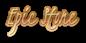 Font Kristi Epic Stone Logo Preview