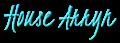 Font Kristi House Arryn Logo Preview