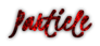 Font Kristi Particle Logo Preview