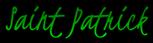 Font Kristi Saint Patrick Logo Preview