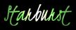 Font Kristi Starburst Logo Preview