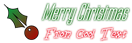 Font Labtop Christmas Symbol Logo Preview