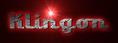 Font LakeshoreDrive Klingon Logo Preview