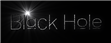 Font Lane Black Hole Logo Preview
