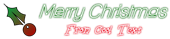 Font Lane Christmas Symbol Logo Preview