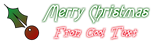 Font Lansbury Christmas Symbol Logo Preview